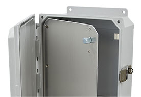 Hinged Front Panels